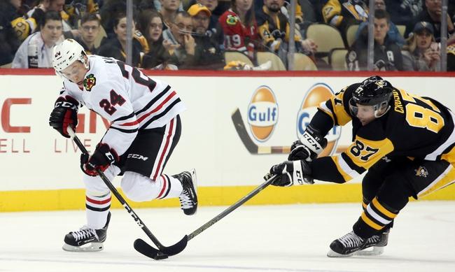 Pittsburgh Penguins vs. Chicago Blackhawks - 11/9/19 NHL Pick, Odds, and Prediction