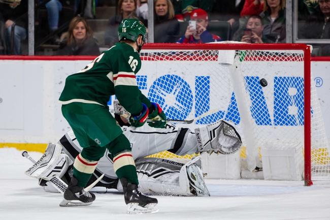 Minnesota Wild vs. Los Angeles Kings - 10/26/19 NHL Pick, Odds, and Prediction
