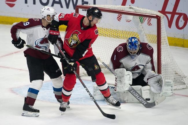 Ottawa Senators vs. Colorado Avalanche - 2/6/20 NHL Pick, Odds & Prediction