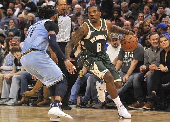 Memphis Grizzlies vs. Milwaukee Bucks - 12/13/19 NBA Pick, Odds, and Prediction