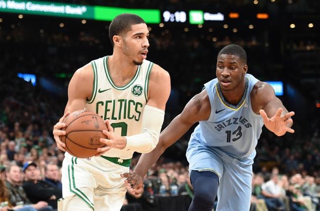 Boston Celtics vs. Memphis Grizzlies - 1/22/20 NBA Pick, Odds & Prediction