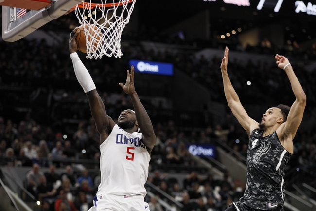 L.A. Clippers vs. San Antonio Spurs - 10/31/19 NBA Pick, Odds, and Prediction