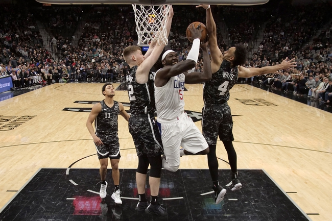 Los Angeles Clippers vs. San Antonio Spurs - 10/31/19 NBA Pick, Odds, and Prediction