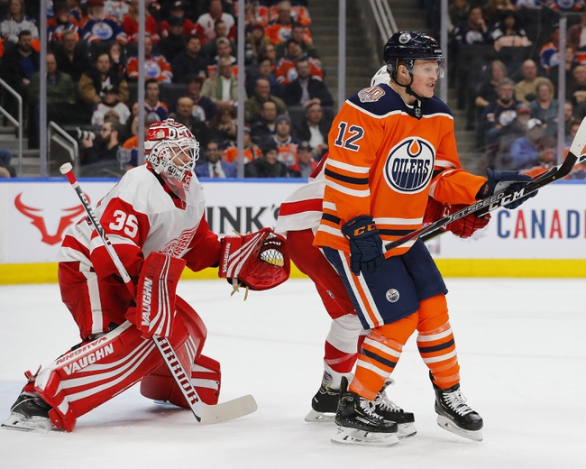 Edmonton Oilers vs. Detroit Red Wings - 10/18/19 NHL Pick, Odds, and Prediction