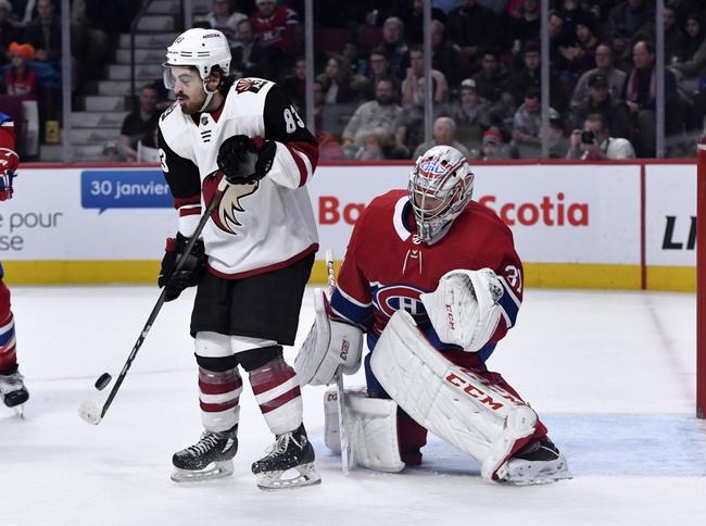 Arizona Coyotes vs. Montreal Canadiens - 10/30/19 NHL Pick, Odds, and Prediction