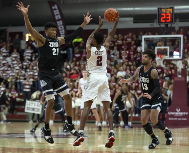 Gonzaga vs. Santa Clara - 1/16/20 College Basketball Pick, Odds, and Prediction