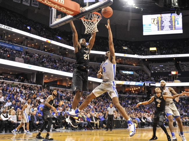 Central Florida vs. Memphis - 1/29/20 College Basketball Pick, Odds, and Prediction