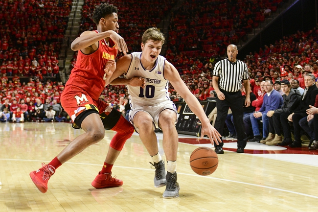 Northwestern vs. Maryland - 1/21/20 College Basketball Pick, Odds, and Prediction