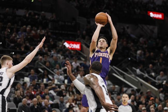 Phoenix Suns vs. San Antonio Spurs - 12/14/19 NBA Pick, Odds, and Prediction