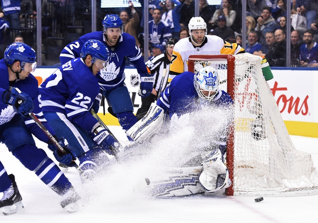 Pittsburgh Penguins vs. Toronto Maple Leafs - 11/16/19 NHL Pick, Odds, and Prediction