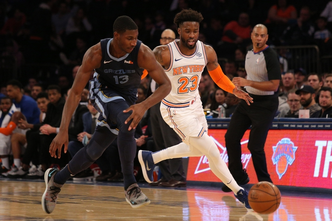 New York Knicks vs. Memphis Grizzlies - 1/29/20 NBA Pick, Odds & Prediction