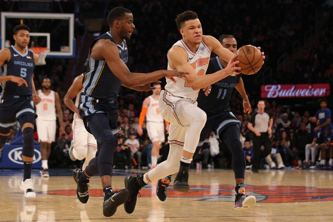 New York Knicks vs. Memphis Grizzlies - 1/29/20 NBA Pick, Odds, and Prediction