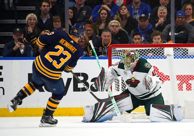 Buffalo Sabres vs. Minnesota Wild - 11/19/19 NHL Pick, Odds, and Prediction
