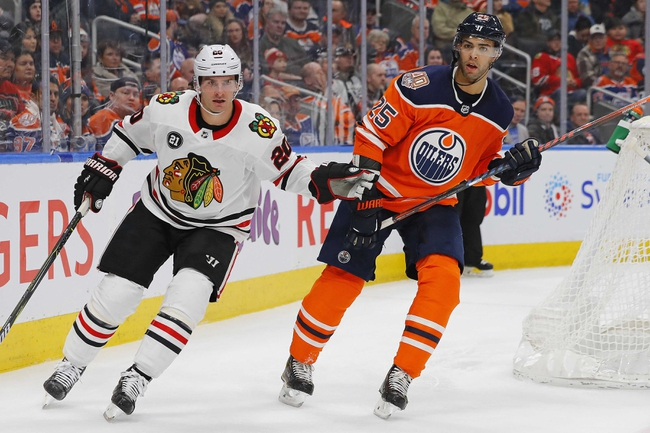 Chicago Blackhawks vs. Edmonton Oilers - 10/14/19 NHL Pick, Odds, and Prediction