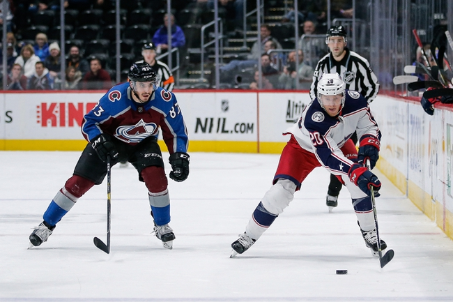 Colorado Avalanche vs. Columbus Blue Jackets - 11/9/19 NHL Pick, Odds, and Prediction