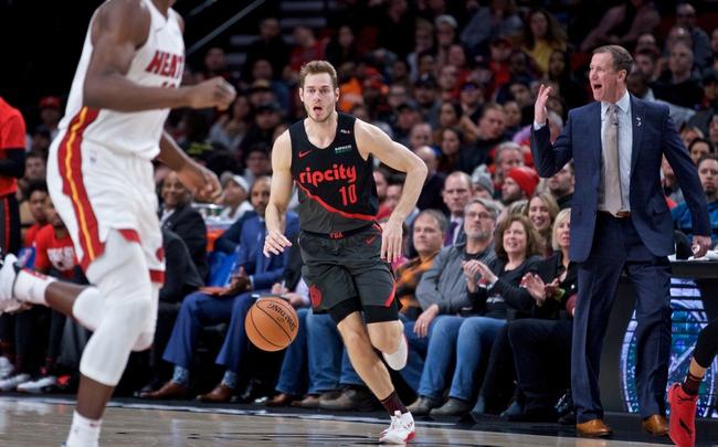 Miami Heat vs. Portland Trail Blazers - 1/5/20 NBA Pick, Odds & Prediction