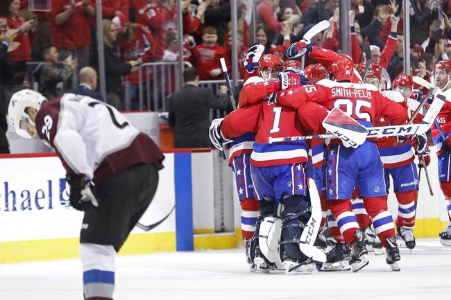 Washington Capitals vs. Colorado Avalanche - 10/14/19 NHL Pick, Odds, and Prediction