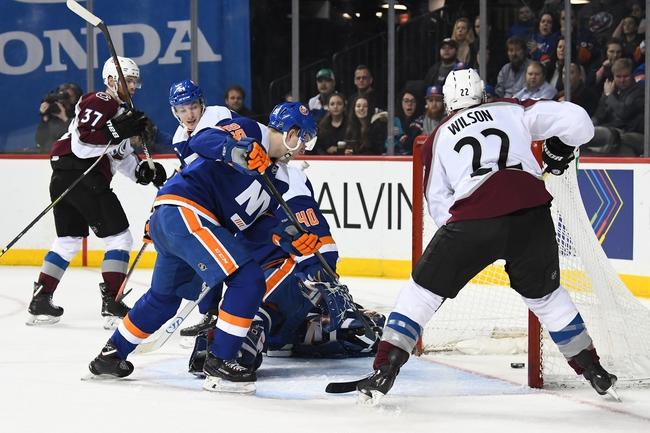 New York Islanders vs. Colorado Avalanche - 1/6/20 NHL Pick, Odds, and Prediction