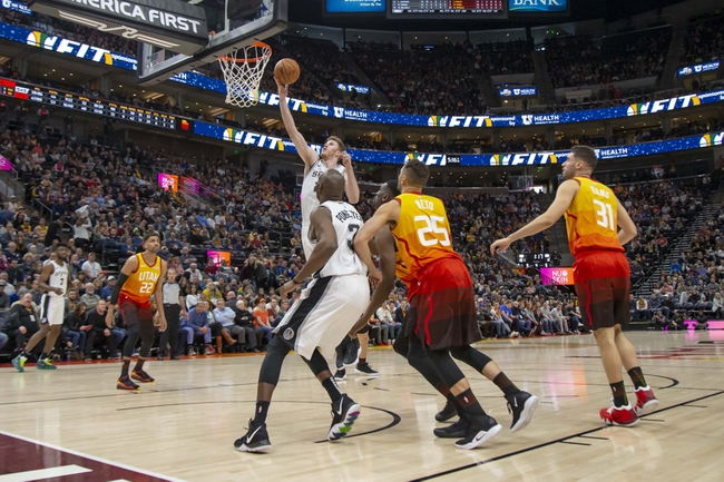 San Antonio Spurs vs. Utah Jazz - 1/29/20 NBA Pick, Odds & Prediction