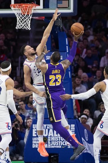 Philadelphia 76ers vs. Los Angeles Lakers - 1/25/20 NBA Pick, Odds & Prediction