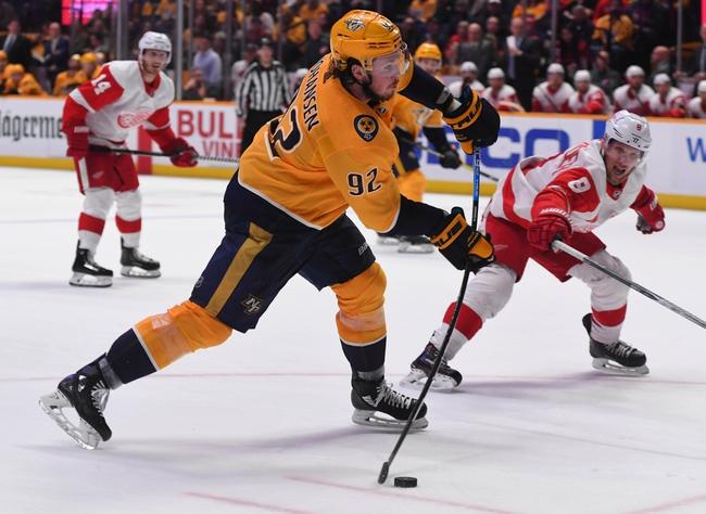 Nashville Predators vs. Detroit Red Wings - 10/5/19 NHL Pick, Odds, and Prediction