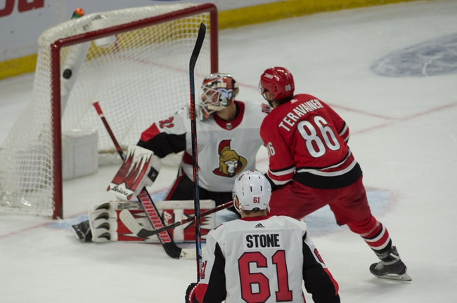 Ottawa Senators vs. Carolina Hurricanes - 11/9/19 NHL Pick, Odds, and Prediction