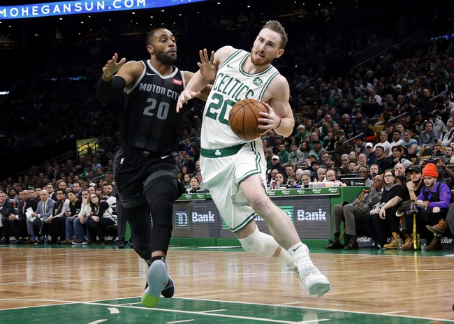 Boston Celtics vs. Detroit Pistons - 12/20/19 NBA Pick, Odds, and Prediction