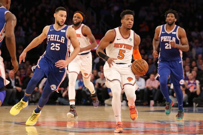 Philadelphia 76ers vs. New York Knicks - 11/20/19 NBA Pick, Odds, and Prediction