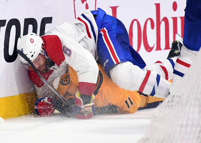 Nashville Predators at Montreal Canadiens - 3/10/20 NHL Picks and Prediction