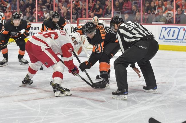 Philadelphia Flyers vs. Detroit Red Wings - 11/29/19 NHL Pick, Odds, and Prediction