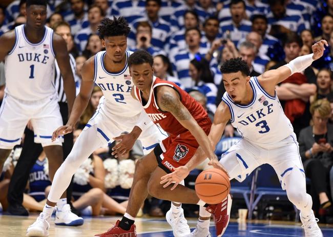 North Carolina State vs. Duke - 2/19/20 College Basketball Pick, Odds & Prediction