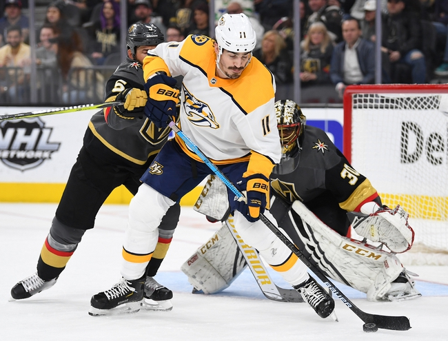 Vegas Golden Knights vs. Nashville Predators - 10/15/19 NHL Pick, Odds, and Prediction