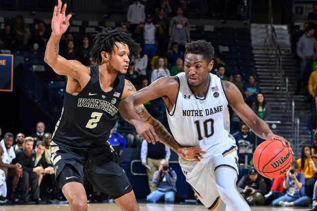 Notre Dame vs. Wake Forest - 1/29/20 College Basketball Pick, Odds, and Prediction