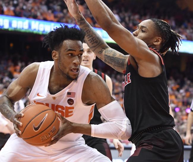 Louisville vs. Syracuse - 2/19/20 College Basketball Pick, Odds & Prediction