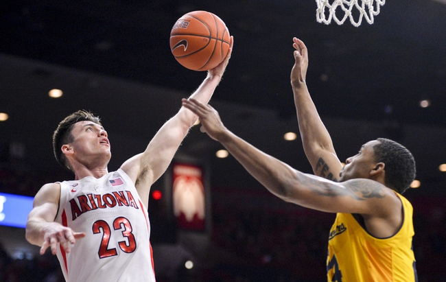 California vs. Arizona - 2/13/20 College Basketball Pick, Odds, and Prediction