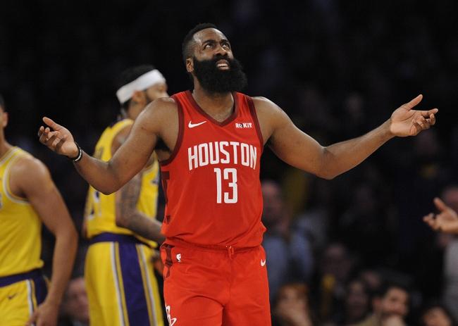 Houston Rockets vs. Los Angeles Lakers - 1/18/20 NBA Pick, Odds, and Prediction