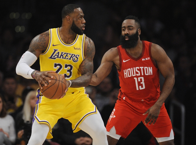 Los Angeles Lakers vs. Houston Rockets - 2/6/20 NBA Pick, Odds, and Prediction