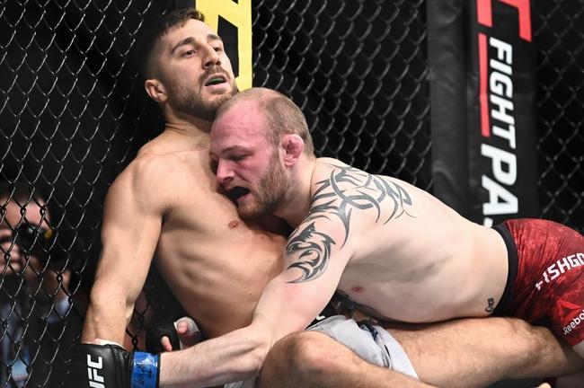 Jared Gordon vs. Chris Fishgold - 7/15/20 UFC Fight Night 172 Pick and Prediction