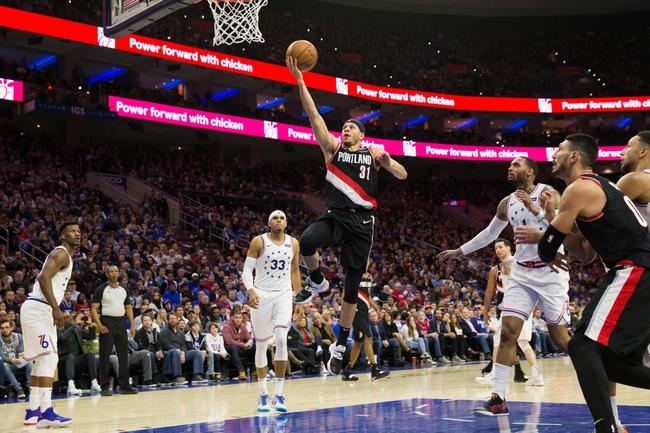 Portland Trail Blazers vs. Philadelphia 76ers - 11/2/19 NBA Pick, Odds, and Prediction