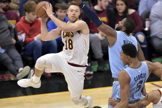 Cleveland Cavaliers vs. Memphis Grizzlies - 12/20/19 NBA Pick, Odds, and Prediction