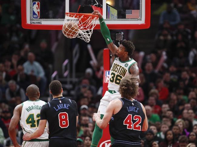 Chicago Bulls vs. Boston Celtics - 1/4/20 NBA Pick, Odds, and Prediction