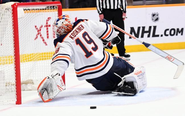 Edmonton Oilers vs. Nashville Predators - 1/14/20 NHL Pick, Odds & Prediction