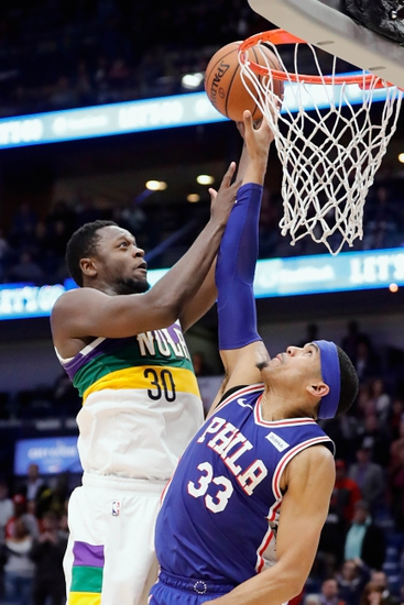 Philadelphia 76ers vs. New Orleans Pelicans - 12/13/19 NBA Pick, Odds, and Prediction