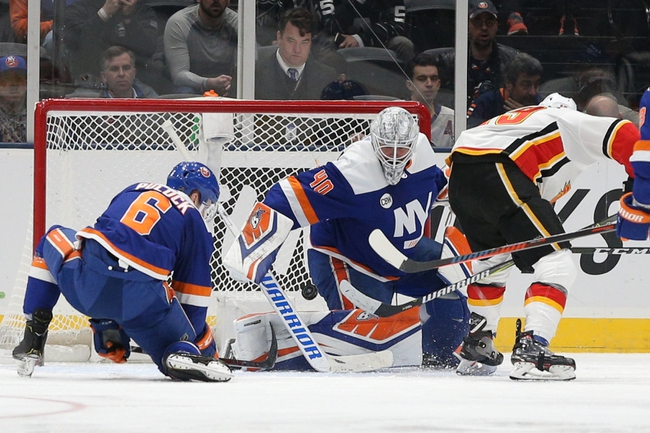 New York Islanders at Calgary Flames - 3/12/20 NHL Picks and Prediction