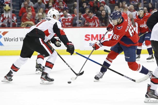 Washington Capitals vs. Ottawa Senators - 1/7/20 NHL Pick, Odds & Prediction