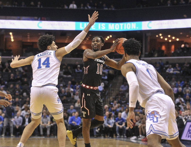 Memphis vs. Temple - 2/5/20 College Basketball Pick, Odds, and Prediction