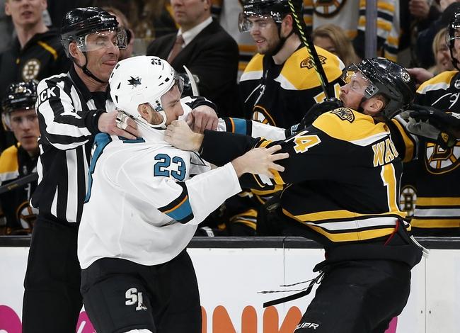 Boston Bruins vs. San Jose Sharks - 10/29/19 NHL Pick, Odds, and Prediction