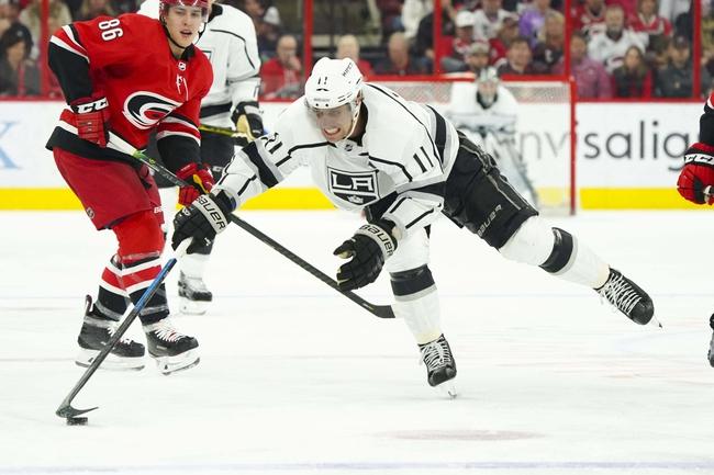 Carolina Hurricanes vs. Los Angeles Kings - 1/11/20 NHL Pick, Odds & Prediction