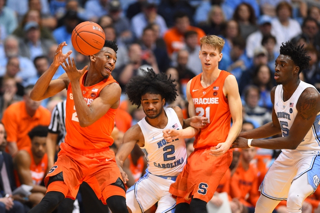 North Carolina vs. Syracuse - 2/29/20 College Basketball Pick, Odds, and Prediction