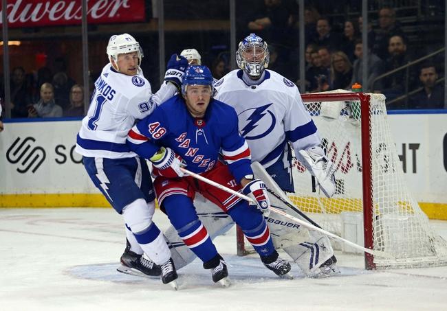 New York Rangers vs. Tampa Bay Lightning - 10/29/19 NHL Pick, Odds, and Prediction